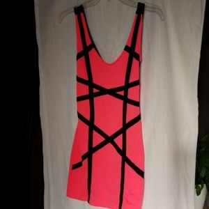 Abstract Mini Dress
